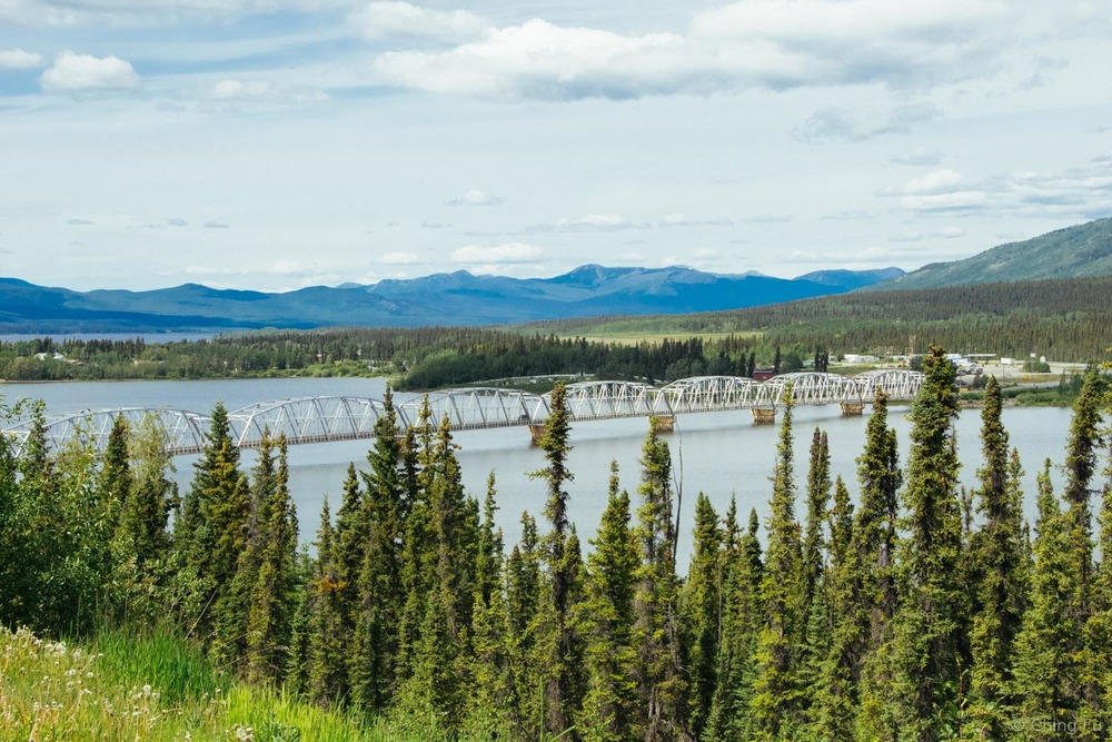 Teslin Lake and Nisutlin Bay