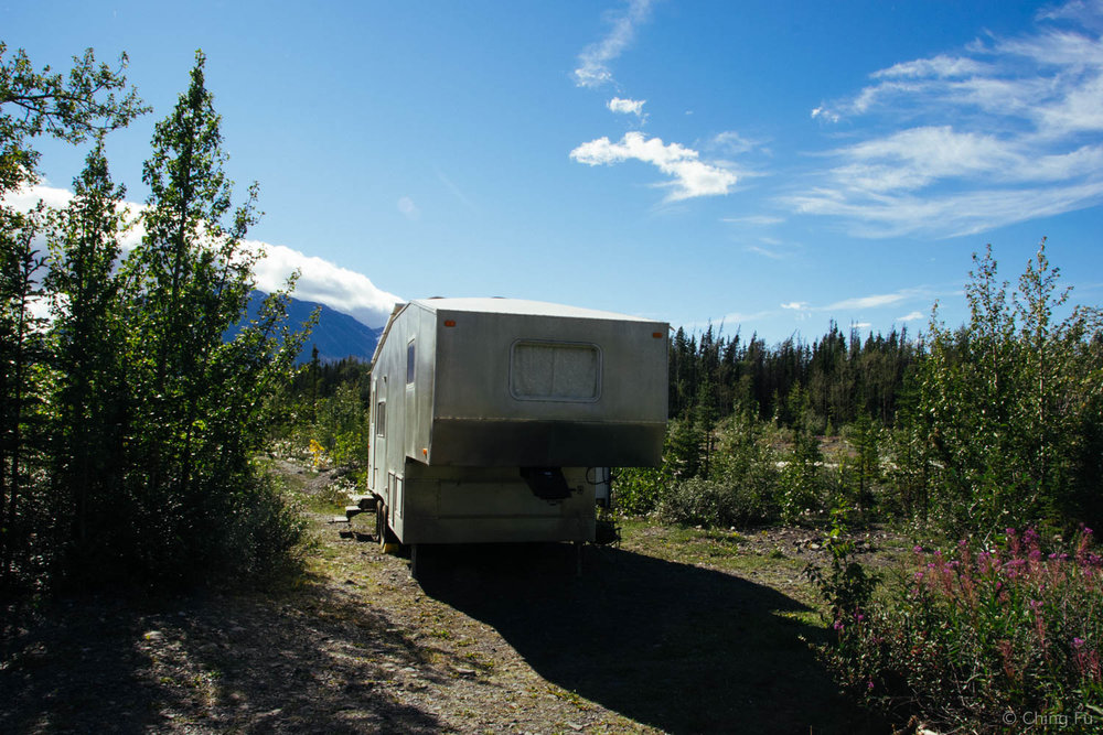 Boondocking by Quill Creek.