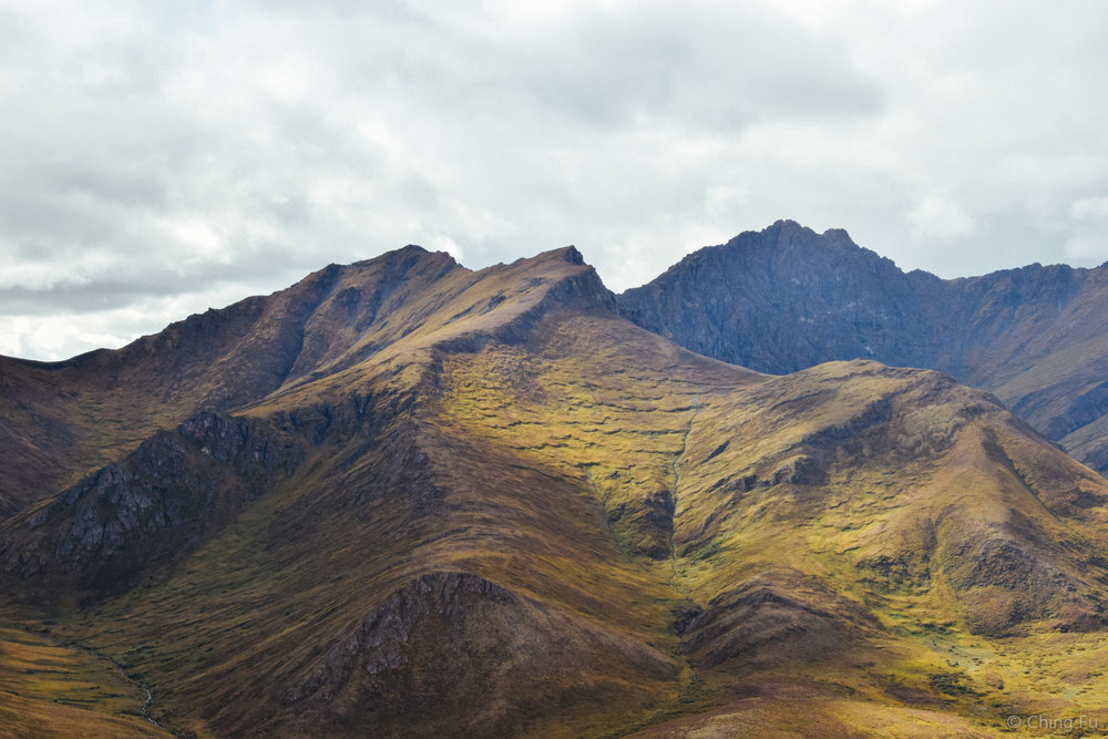 Mountains of Tombstone Territorial Park.