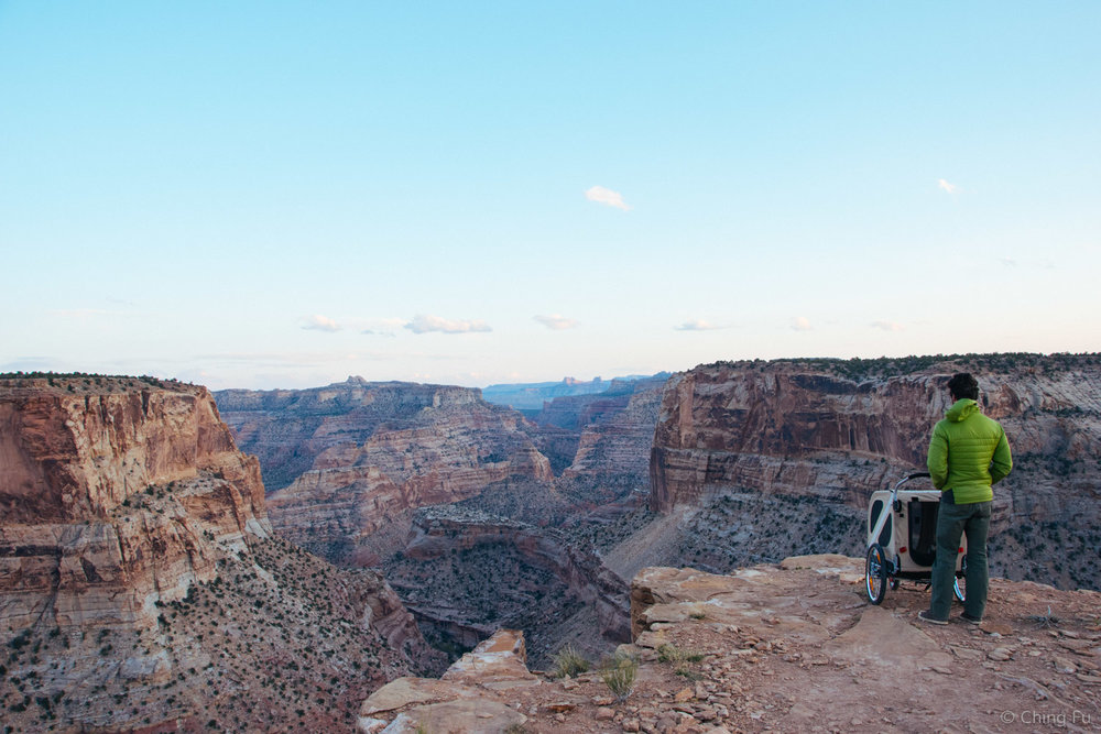 Tybee and Jerud at Little Grand Canyon.
