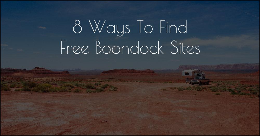 8 Ways To Find Free Boondock Sites DSC_0333_179862.jpg