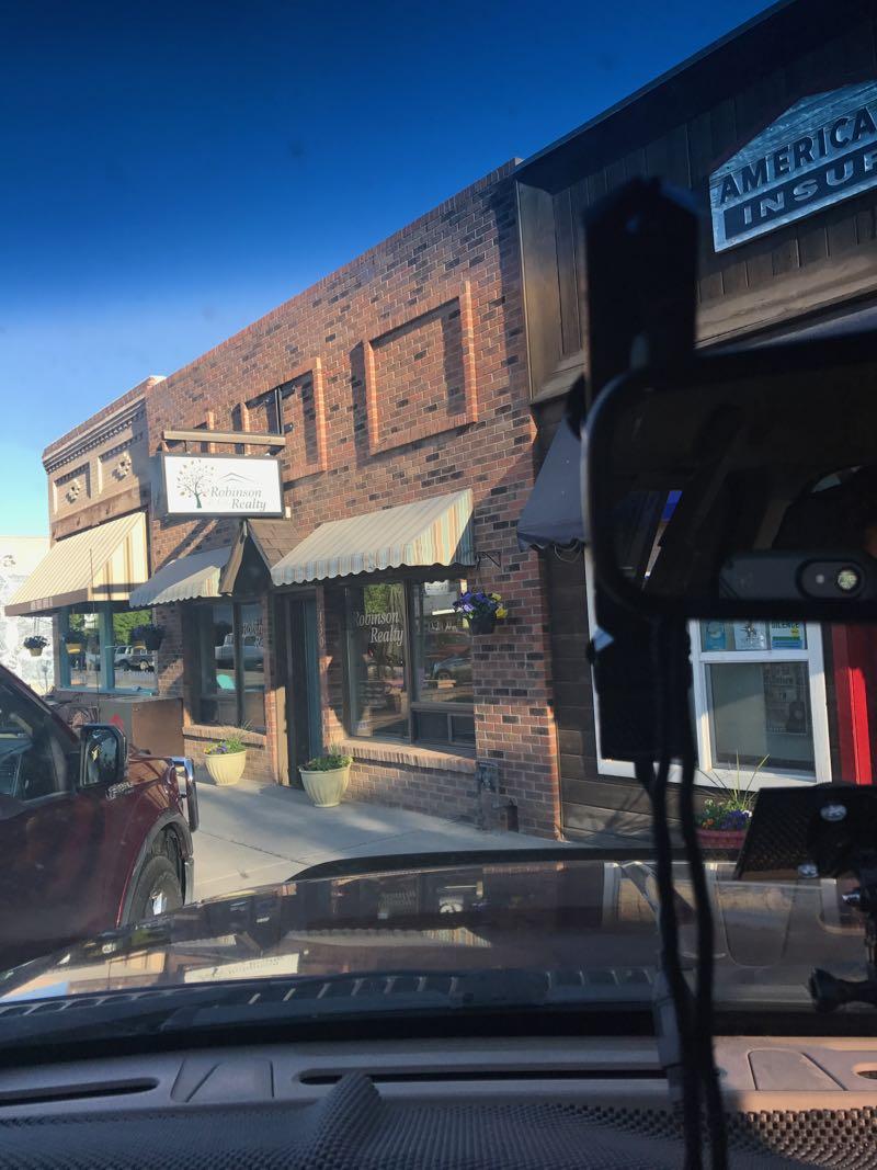 Antenna in truck