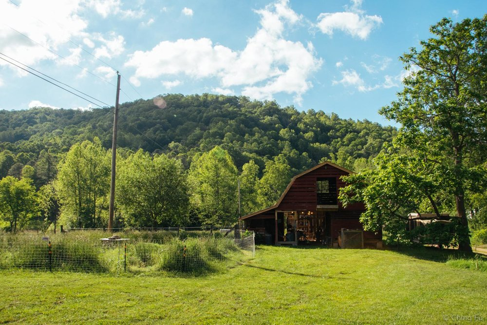 Barn on Whistlepig Farm.