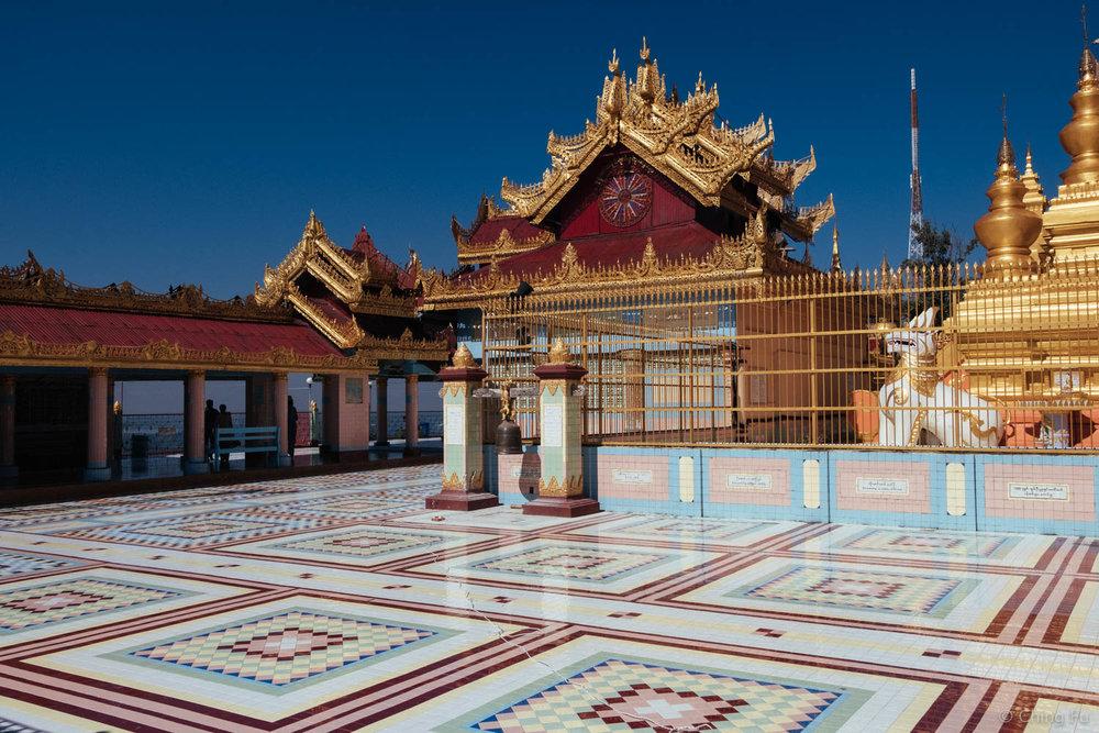 Soon U Ponya Shin Pagoda in Sagaing