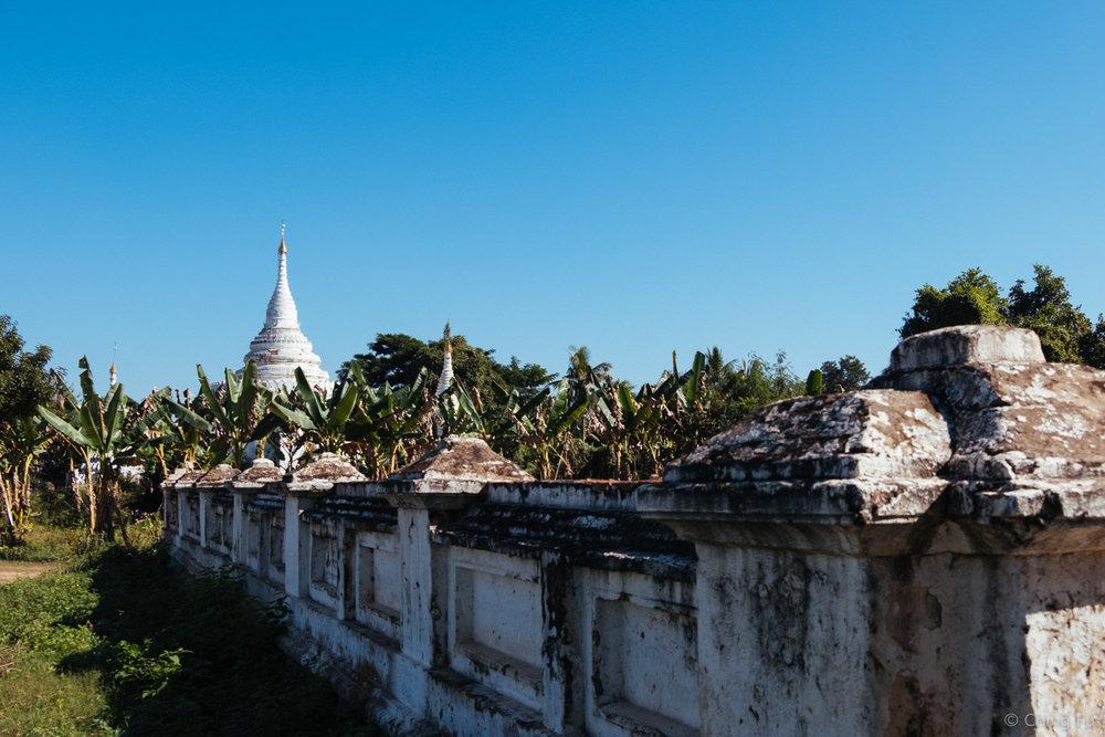 A pagoda in Inwa, Myanmar.
