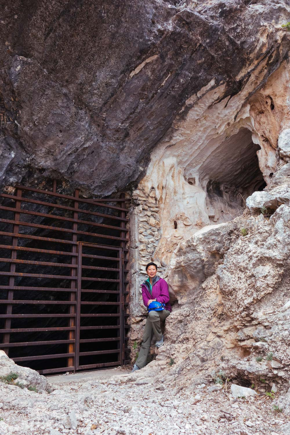 Slaughter Canyon Cave entrance.