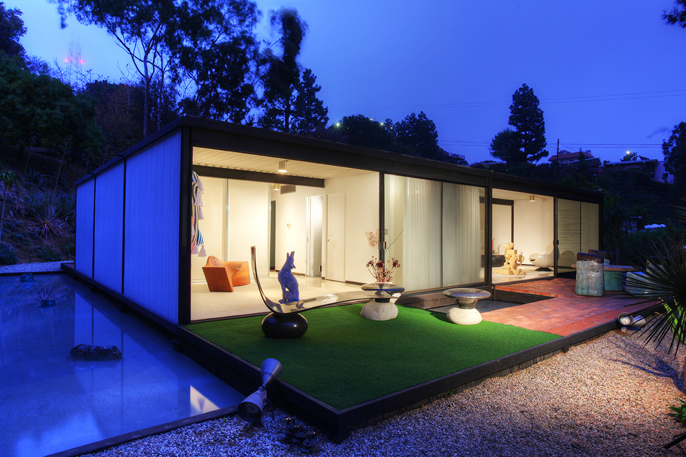 Neutra's Case Study #20 Bailey House | architecture | Pinterest
