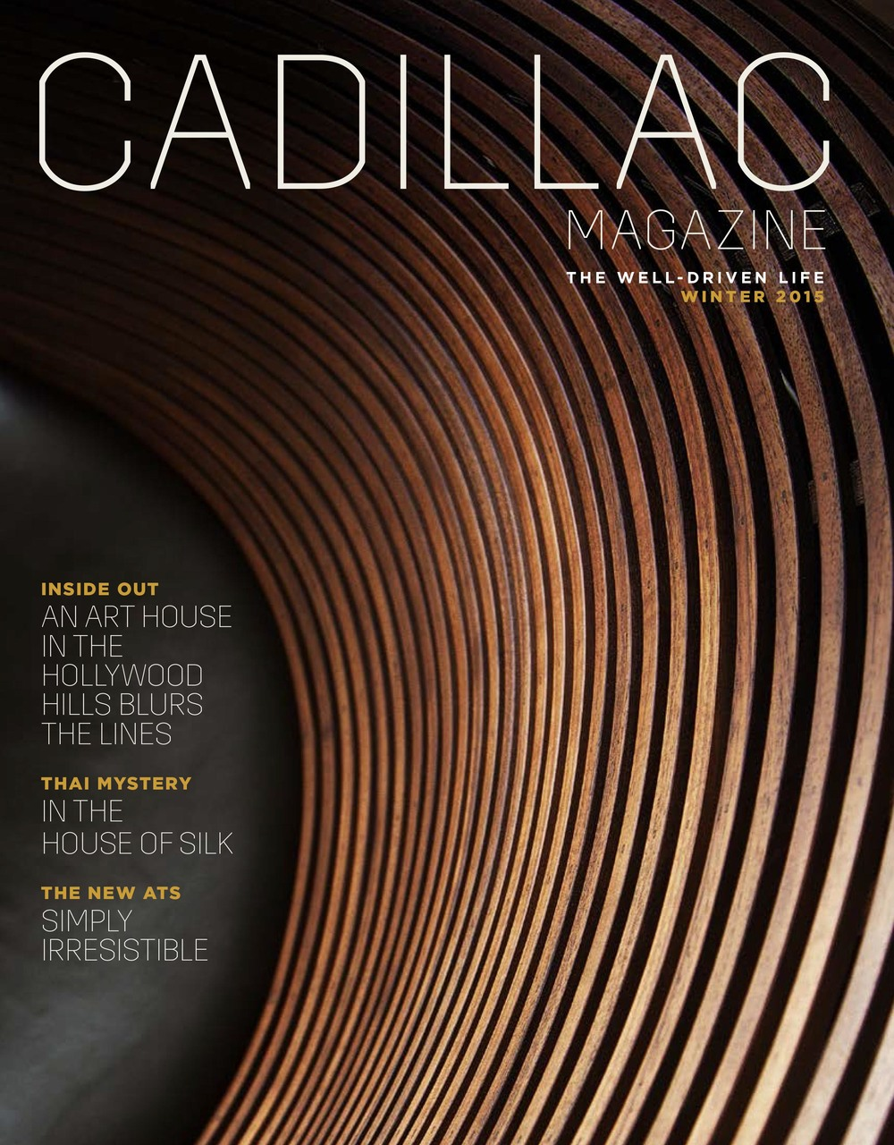 Cadillac Magazine - Winter 2015 (Gallery feature)