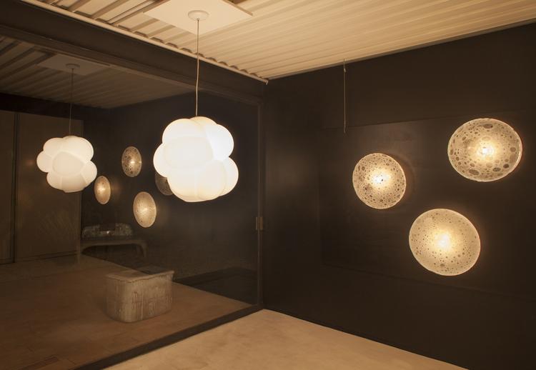 zimmerman lighting. Jeff Zimmerman Unique Full Moon Wall-mounted Illuminated Sculpture In Hand-blown Soda Glass Lighting M