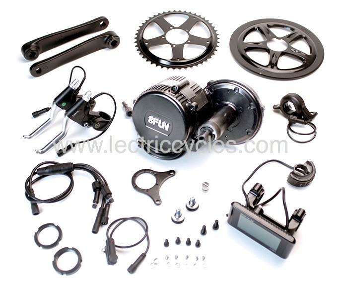 Lectric Cycles  350 watt Mid-Drive Kit