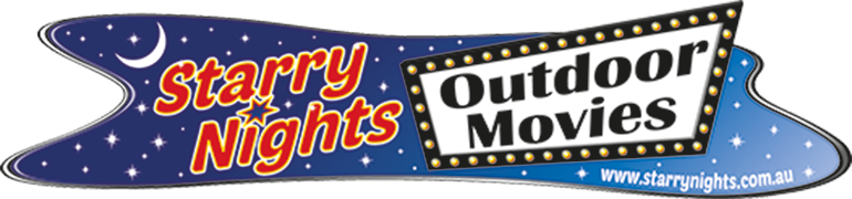 Projection facilities are kindly donated by Trent & Katie Harvison of   Starry Nights Outdoor Movies.