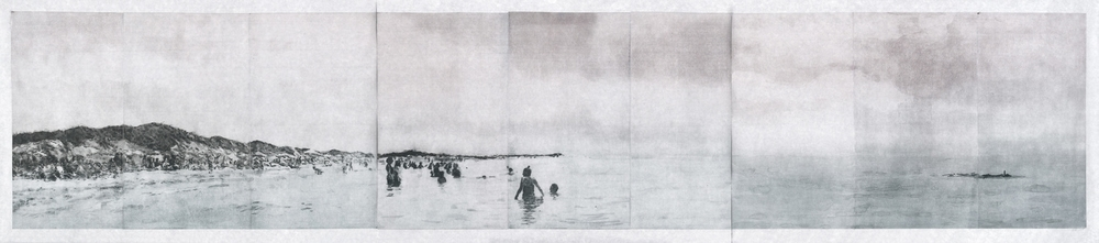 Panorama Cape Cod, 2014, Photopolymer intaglio, 19.75 x 30.75 each