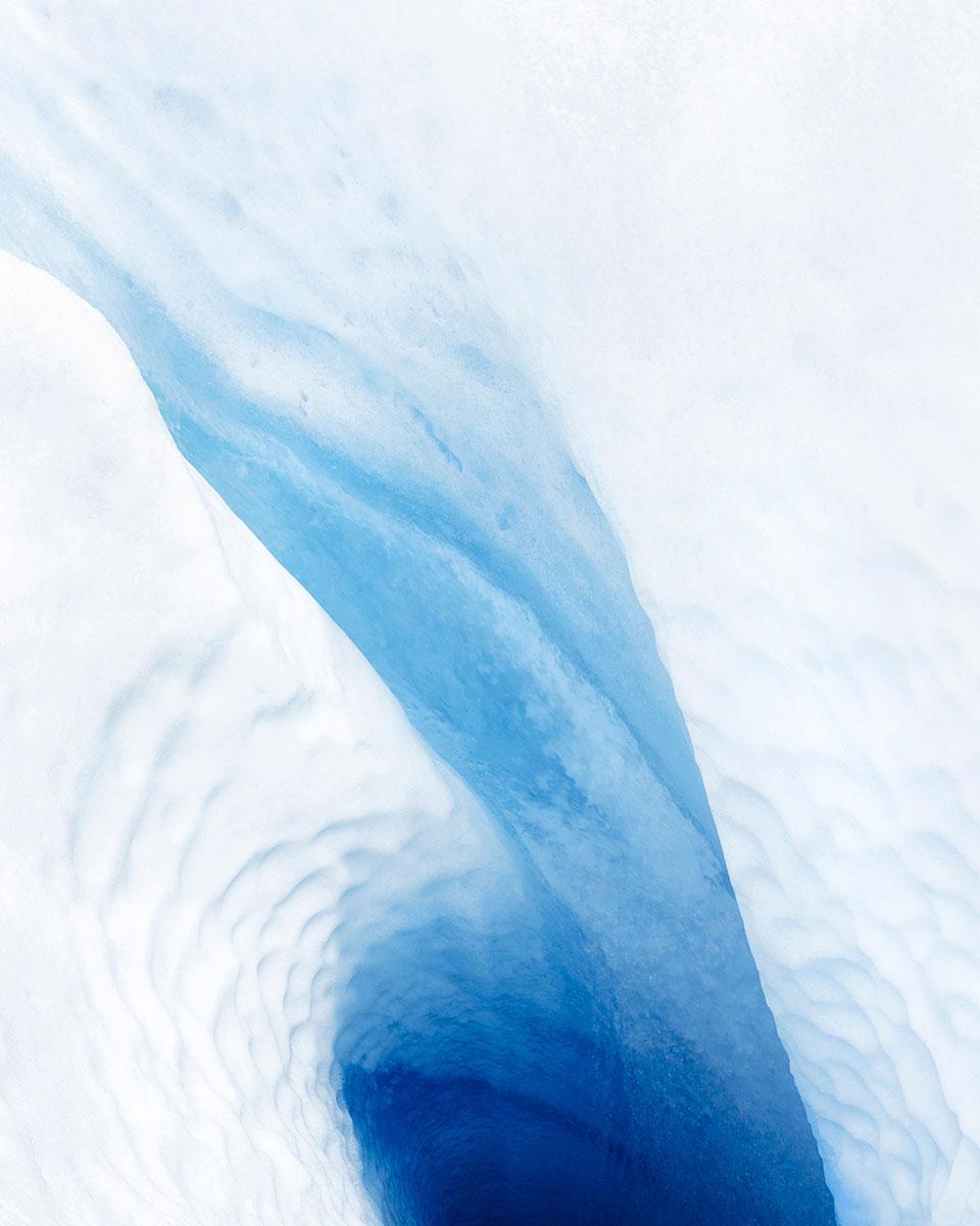 """Glacier #1, 30 x 37.5"""" (ed 8), 40 x 50"""" (ed 5)"""