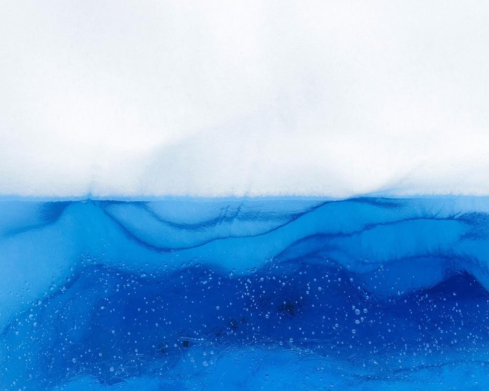 """Glacier #330 x 37.5"""" (ed 8), 40 x 50"""" (ed 5)"""