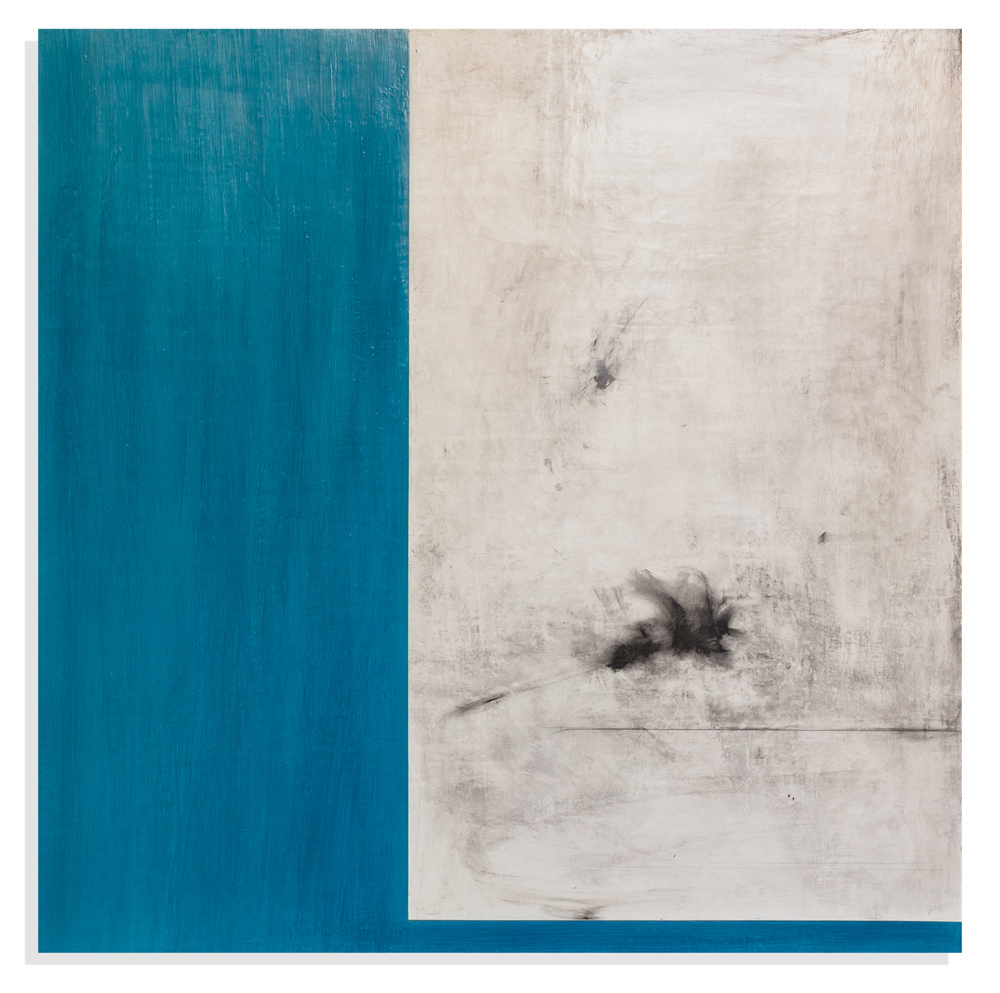 Intracoastal, 2015, mixed media on panel, 36 x 36 inches