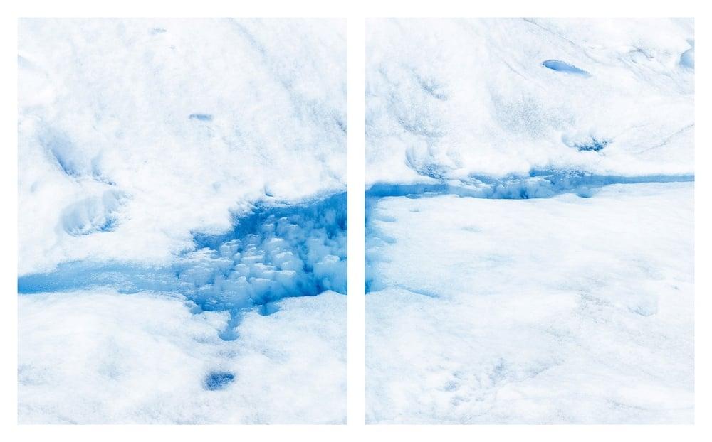 """Glacier #13, 34 x 52"""" (ed 8), 40 x 65"""" (ed 5), 50 x 81 (ed 3)"""