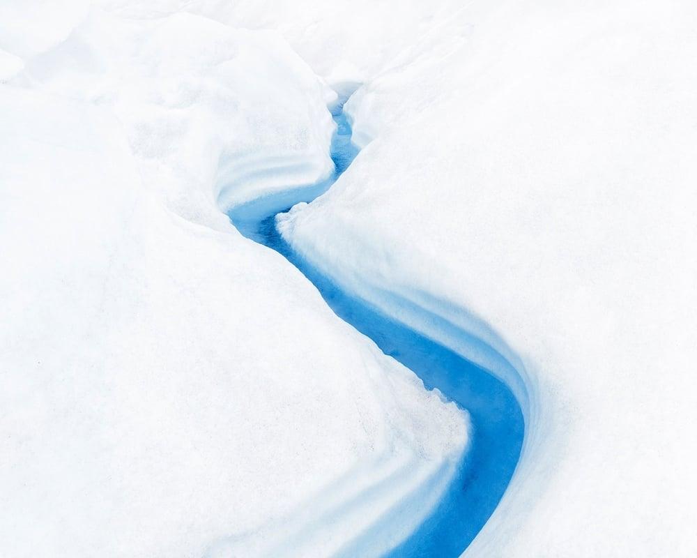 """Glacier #6, 30 x 37.5"""" (ed 8), 40 x 50"""" (ed 5)"""