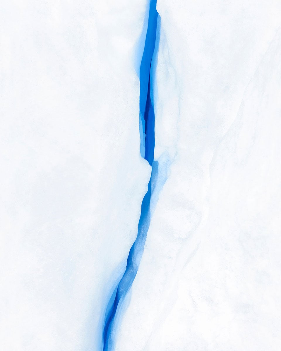 """Glacier #10, 30 x 37.5"""" (ed 8), 40 x 50"""" (ed 5)"""