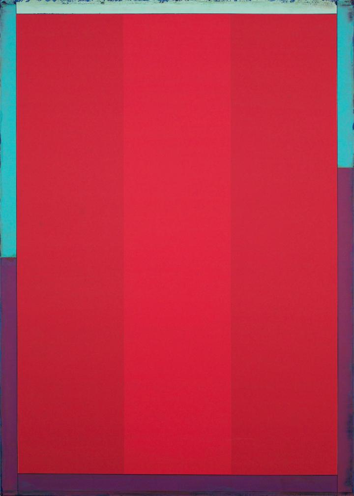 Poet XV, 2016, 42 x 30 inches