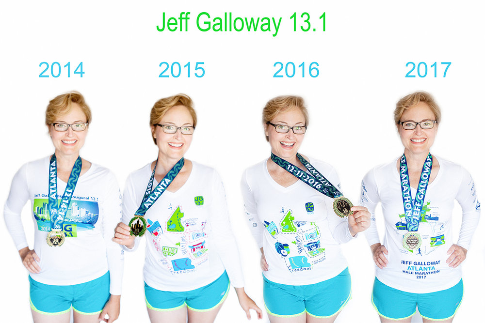 JennKL_Jeff Galloway 131 Tshirts and Medals FINAL web.jpg
