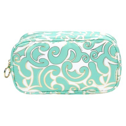 Contenets Summer Getaway Double Zip Clutch-$14.99