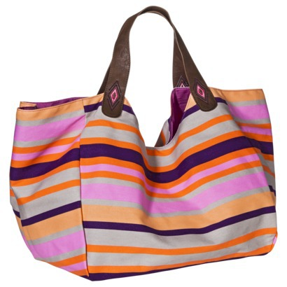 Mossimo Supply Co. Multi Stripe Tote Handbag - Multicolor-$24.99