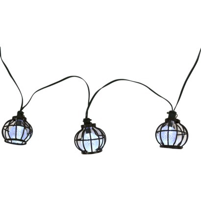 Threshold™ Solar Metal Globe String Lights (20ct)-$24.99