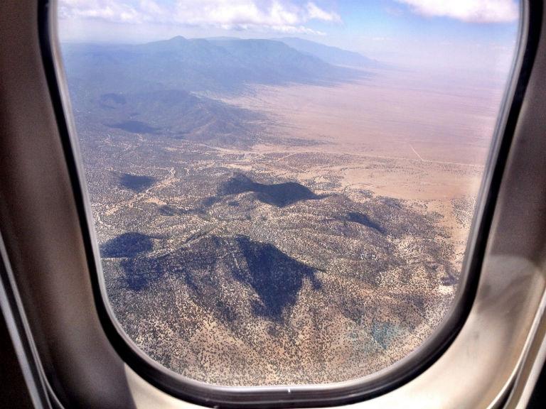 The Sandia Mountains