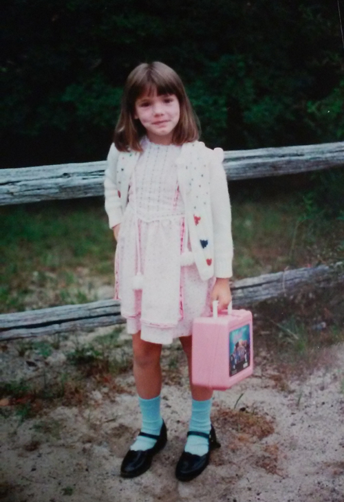 My first day of first grade.