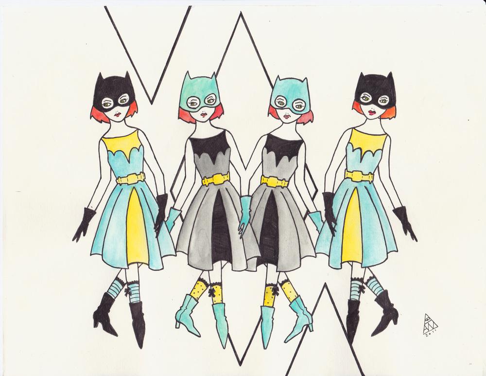 Four Bats