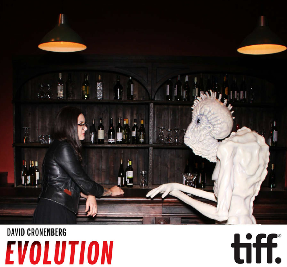 Aminda Wood & Mugwump at David Cronenberg:Evolution exhibit