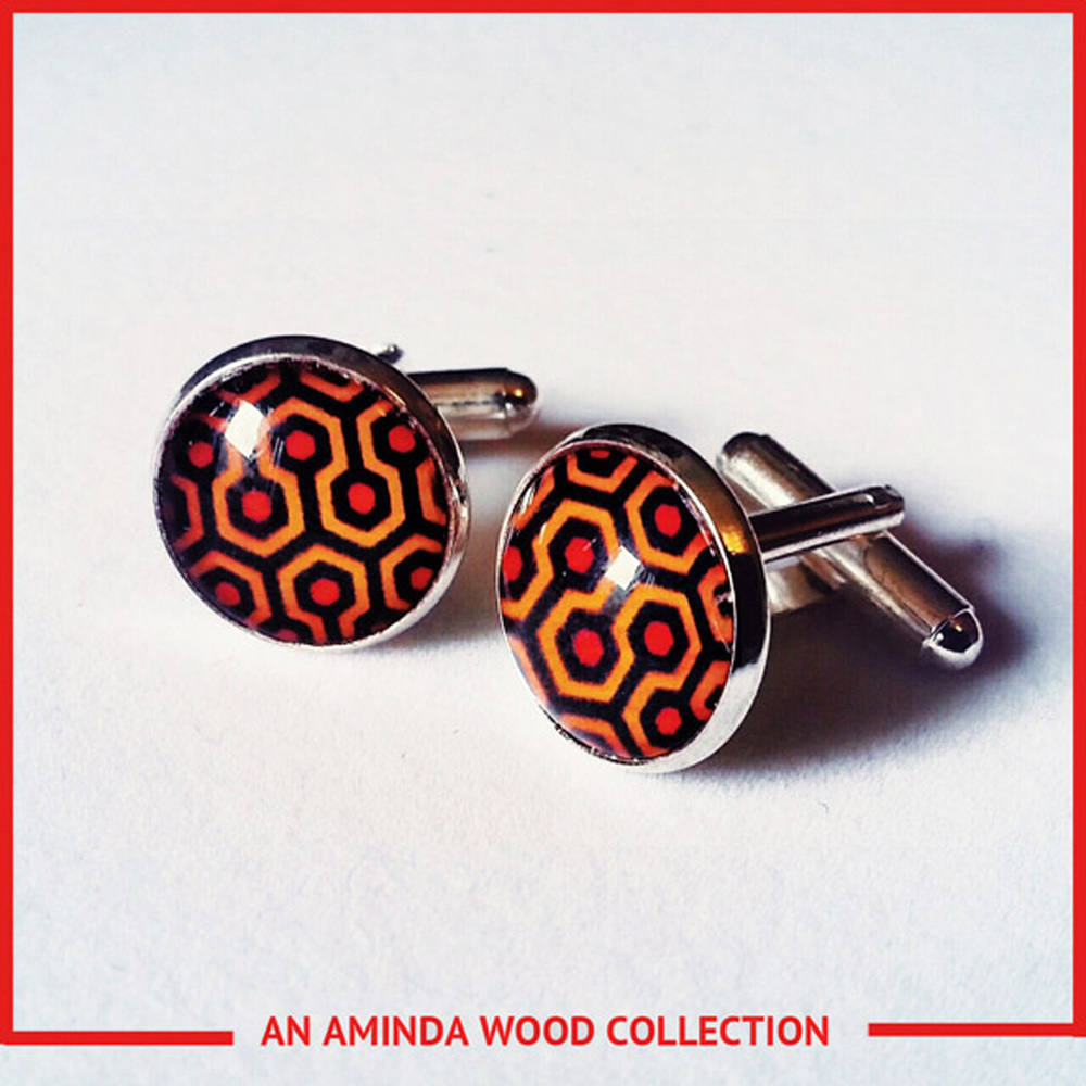 Overlook Hotel Carpet Cufflinks