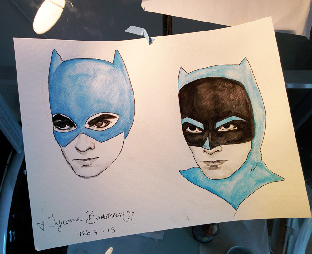 Tyrone Power was never Batman, but he will always be the perfect Batman to me.  Idea in Progress