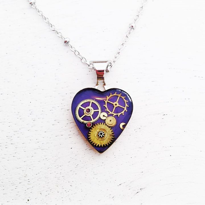 Launched my new Mini Mechanical Hearts at Fringe, they are back in stock, but very limited!