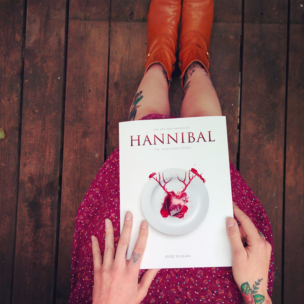 The day my long pre-ordered copy of The Art and Making of Hannibal arrived!