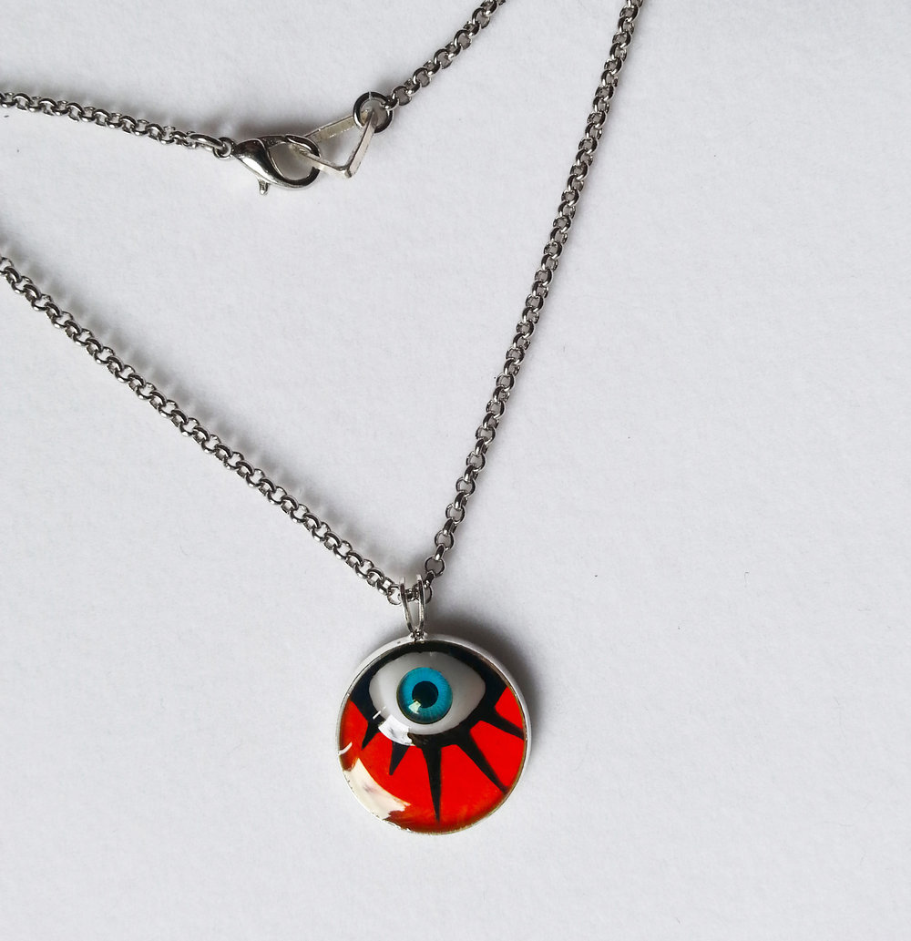 Clockwork Orange Pendant