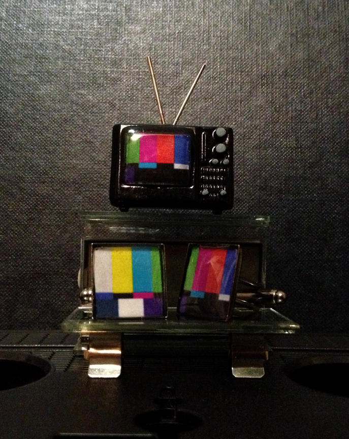 Colour Bar Cufflinks