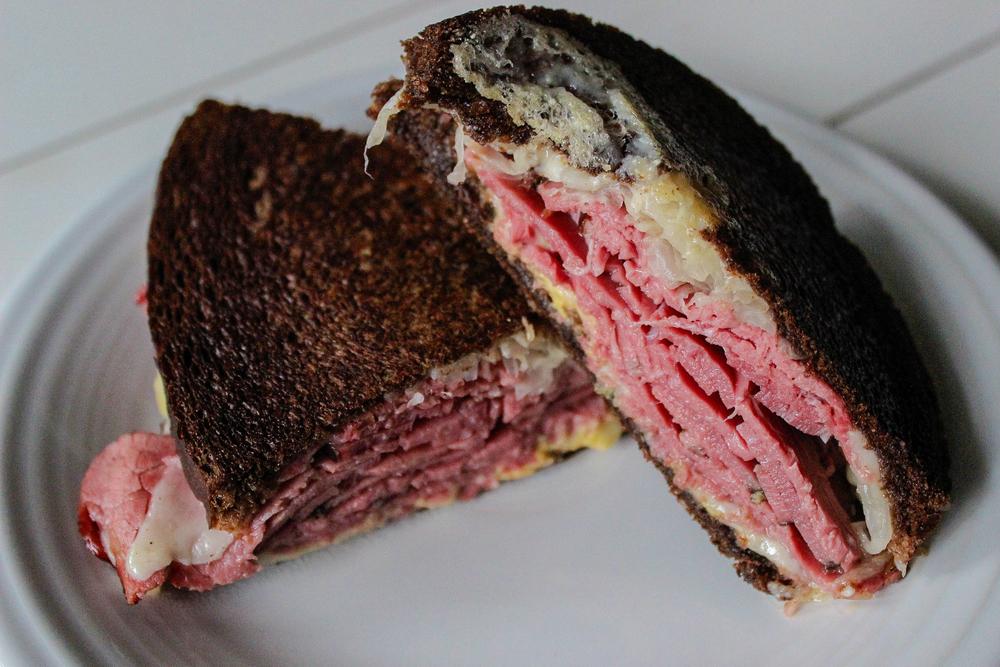 Reuben Panini Sandwich