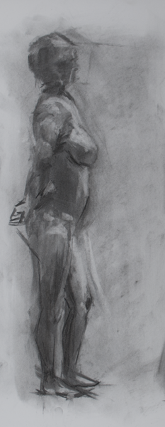 figure drawing, fall '13
