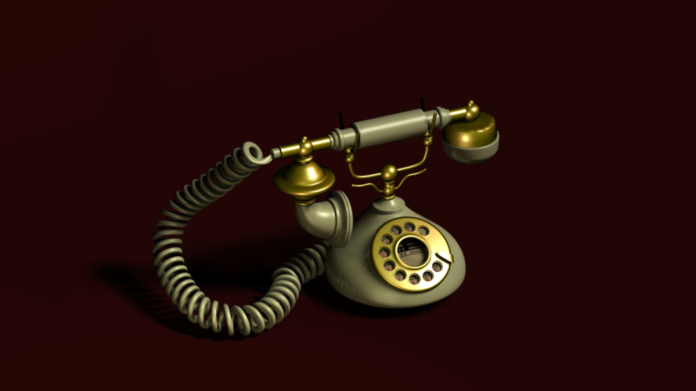 rotary telephone, 2014
