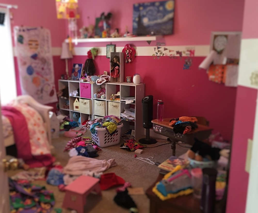 This is her room