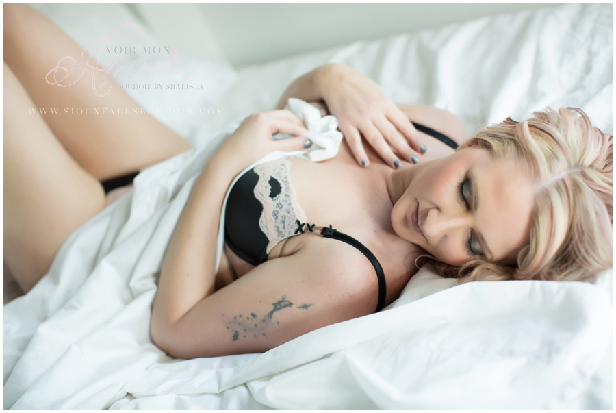 Sioux Falls Boudoir Photography