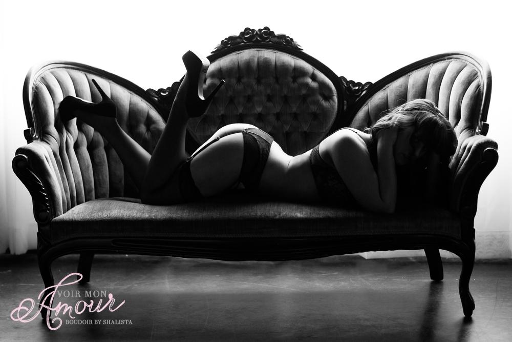 Dark moody boudoir images
