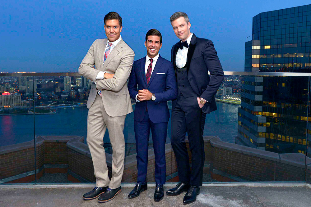 Million Dollar Listing New York cast members: Fredrik Eklund, Luis D. Ortiz and Ryan Serhant
