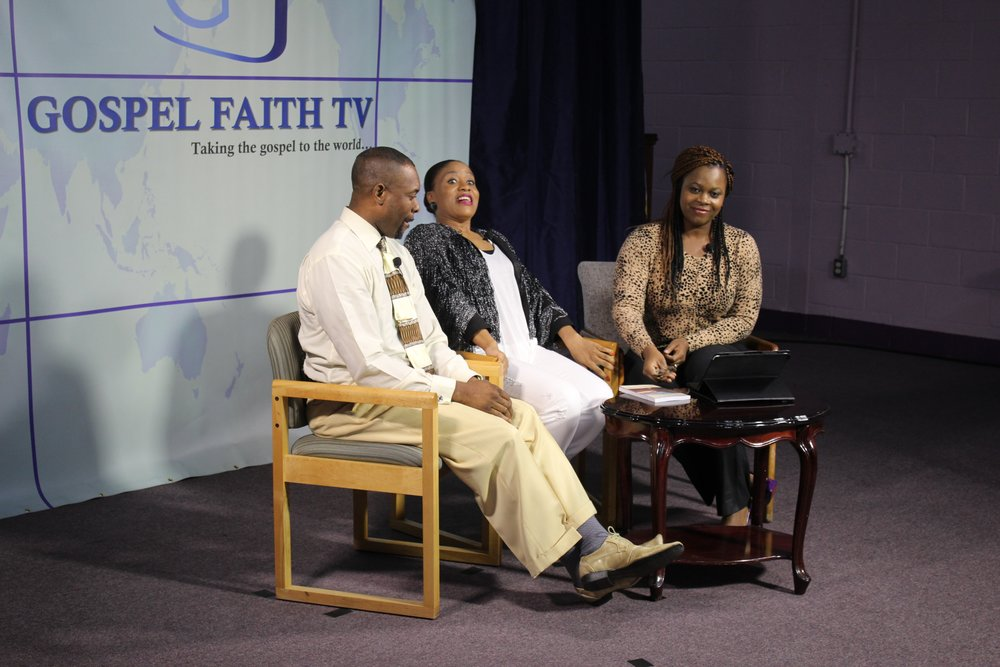 Gospel Faith TV hosting appearance
