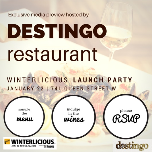 Winterlicious Launch Event