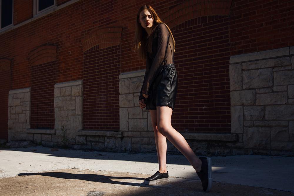 top AMERICAN DEADSTOCK   shorts AMERICAN APPAREL   sneakers ASH