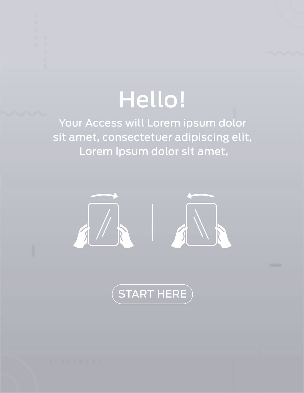 Idle Screen