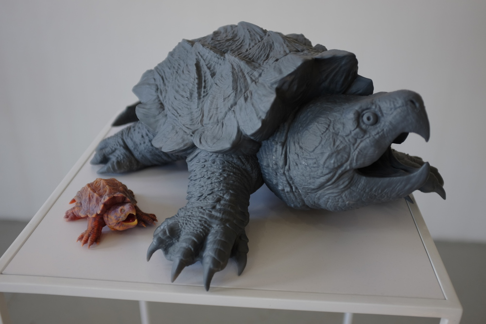 A 3D printed turtle by Paul Liaw