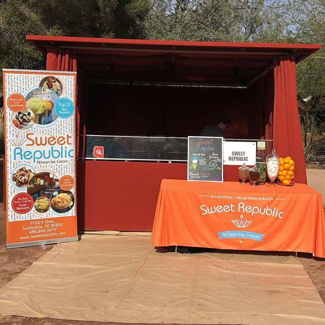 Come visit us today at the Desert Botanical Garden for @devourphoenix !!